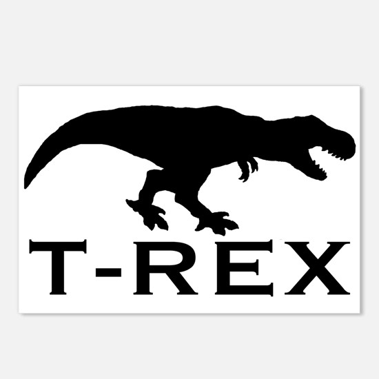 T Rex Postcards (Package of 8)
