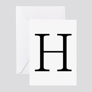 Greek Letter Eta Greeting Cards (Pk of 10)