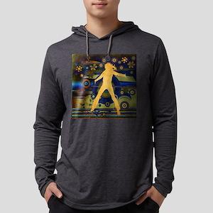 jumpingcrazy2 Mens Hooded Shirt
