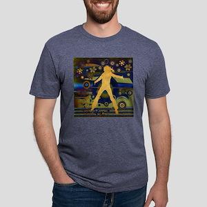 jumpingcrazy2 Mens Tri-blend T-Shirt