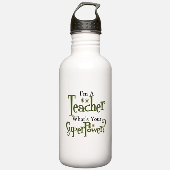 Super Teacher Water Bottle