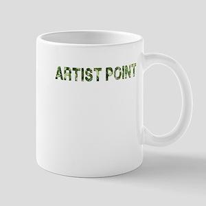 Artist Point, Vintage Camo, Mug