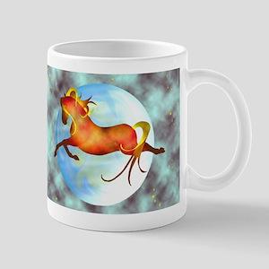 moon horse magnets 2 Mugs