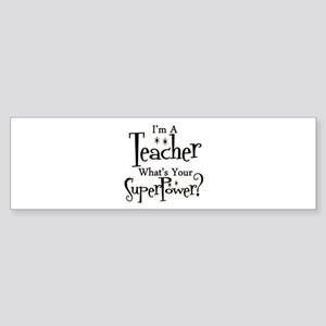 Super Teacher Sticker (Bumper)
