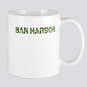 Bar Harbor, Vintage Camo, Mug