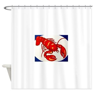 Lobsters Shower Curtains