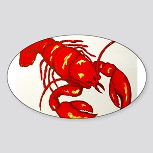 Lobster Sticker (Oval)