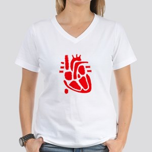 Anatomical Heart Women's Dark T-Shirt