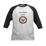 USS CHAUNCEY Kids Baseball Jersey