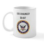 USS CHAUNCEY Mug