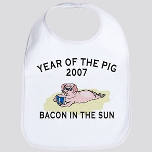 Bacon In The Sun Bib
