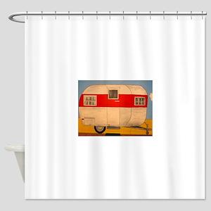 Camper Ham Shower Curtain