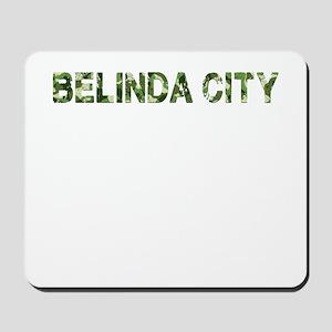 Belinda City, Vintage Camo, Mousepad