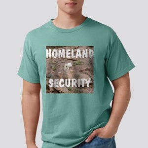Homeland security Mens Comfort Colors Shirt