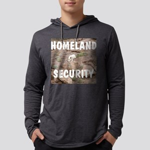 Homeland security Mens Hooded Shirt