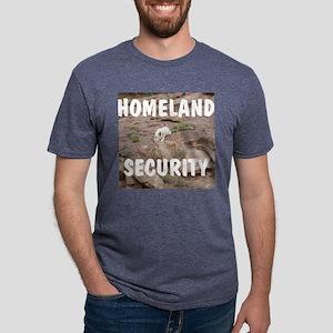 Homeland security Mens Tri-blend T-Shirt