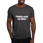 Pitbulls Make Me Smile! T-Shirt