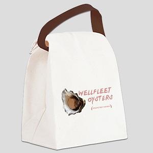 Wellfleet Oysters Canvas Lunch Bag