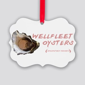Wellfleet Oysters Picture Ornament