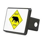 Bear Crossing Rectangular Hitch Cover