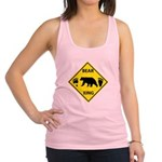 Bear and Tracks XING Racerback Tank Top