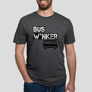 Bus W*nker Mens Tri-blend T-Shirt