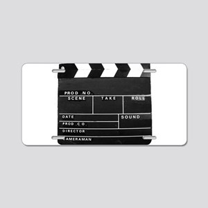 Movie Video production Clap Aluminum License Plate