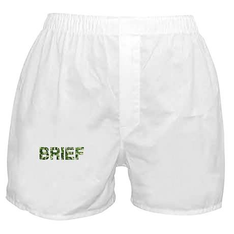 Brief, Vintage Camo, Boxer Shorts