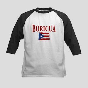 boricua(blk) Baseball Jersey