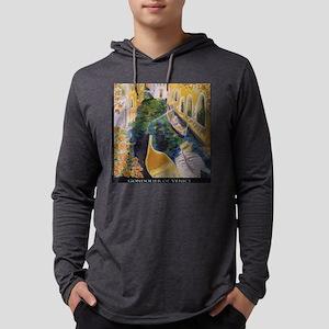 Gondolier of Venice Mens Hooded Shirt