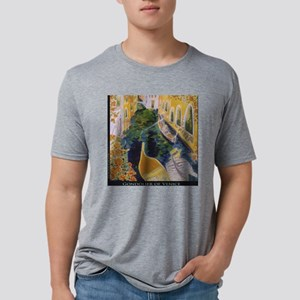 Gondolier of Venice Mens Tri-blend T-Shirt