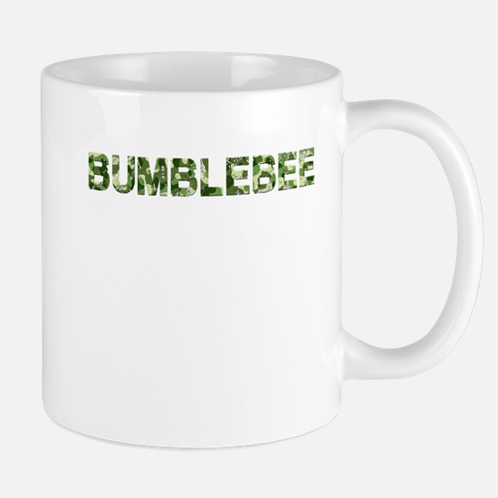 Bumblebee, Vintage Camo, Mug