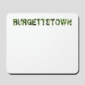 Burgettstown, Vintage Camo, Mousepad
