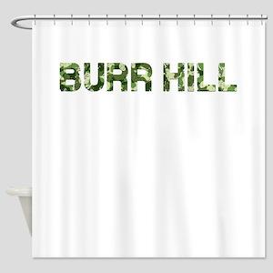 Burr Hill, Vintage Camo, Shower Curtain