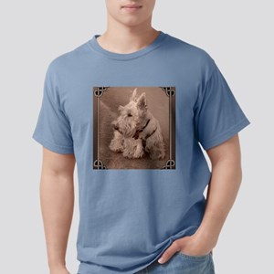 WheatenScottie_tile Mens Comfort Colors Shirt