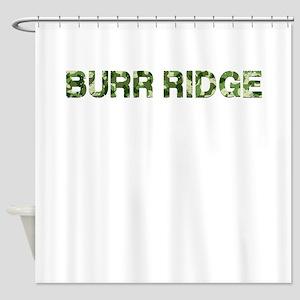 Burr Ridge, Vintage Camo, Shower Curtain