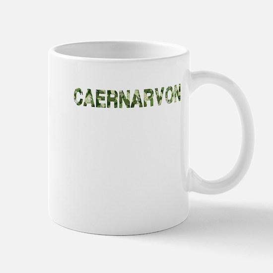 Caernarvon, Vintage Camo, Mug