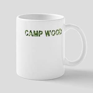 Camp Wood, Vintage Camo, Mug