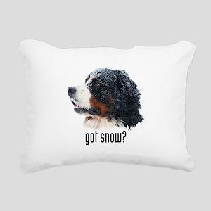 got snow? Rectangular Canvas Pillow