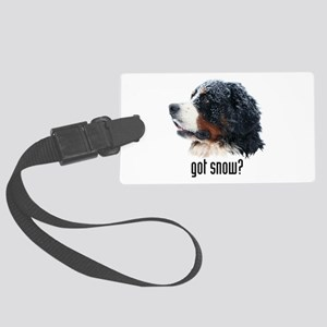 got snow? Large Luggage Tag