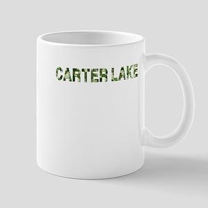 Carter Lake, Vintage Camo, Mug