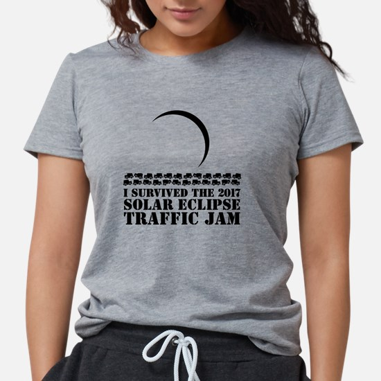 I Survived 2017 Solar Ecl Womens Tri-blend T-Shirt