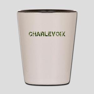 Charlevoix, Vintage Camo, Shot Glass