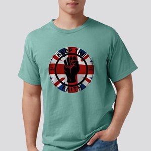 KeepTheFaithnewujround.p Mens Comfort Colors Shirt