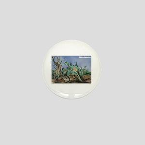 Chirostenotes Dinosaur Mini Button