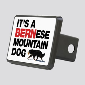 It's a BERNese Rectangular Hitch Cover