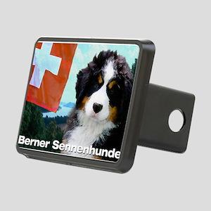 Berner Sennenhunde Rectangular Hitch Cover
