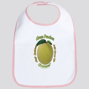 Ruthless Green Peaches Bib