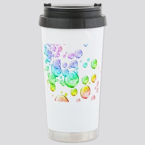 Colored bubbles Stainless Steel Travel Mug