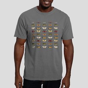 Vintage Butterflies Mens Comfort Colors Shirt